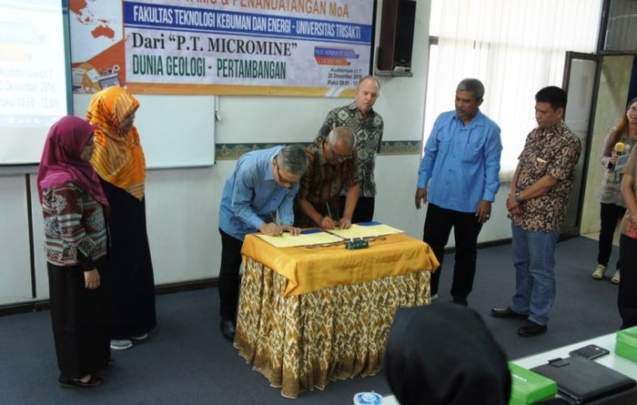 Micromine ties up with Indonesian university