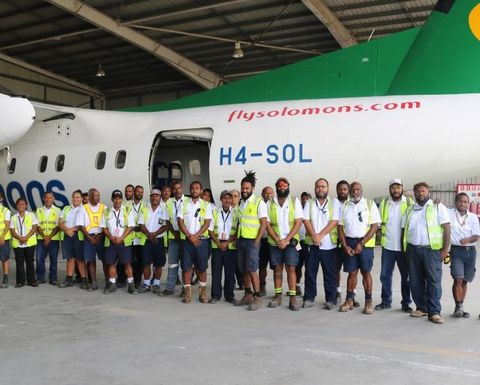 Air Niugini moves into MRO