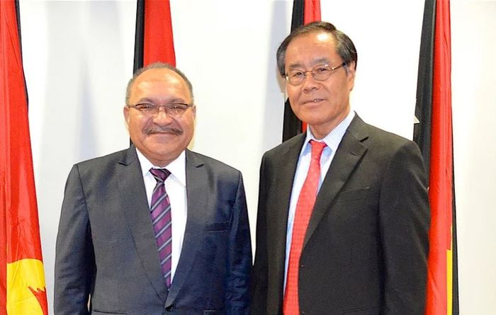 Japan ambassador praised for PNG role