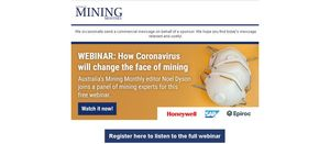 Webinar focus on mining, post coronavirus