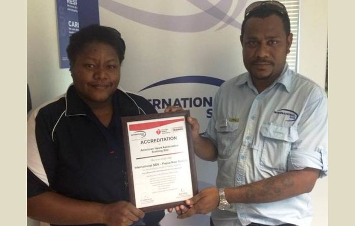PNG med firm gets accredited again