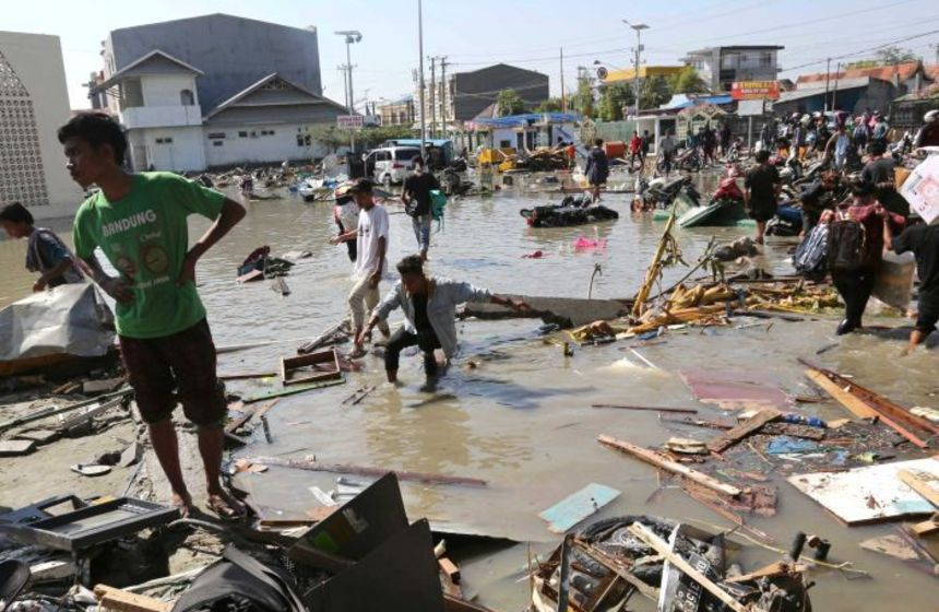 Tsunami death toll rising