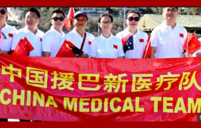 China ship medical team to stay in PNG