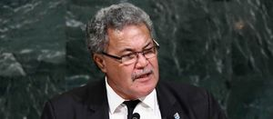 Tuvalu terror of rising seas