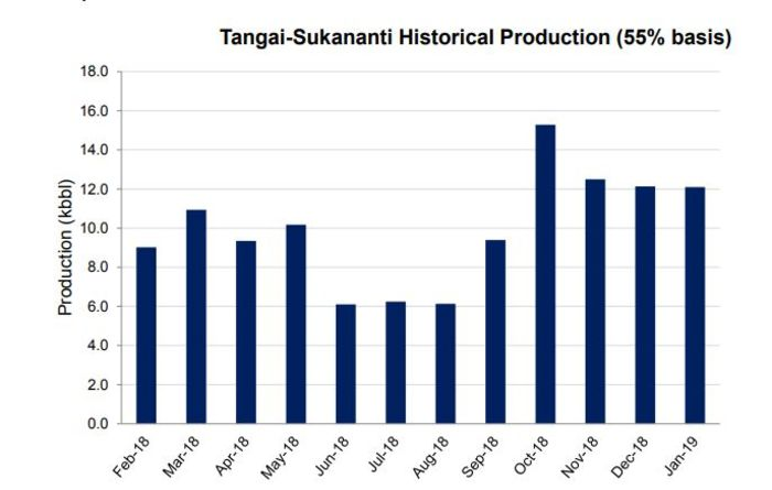 Steady output from Tangai-Sukananti