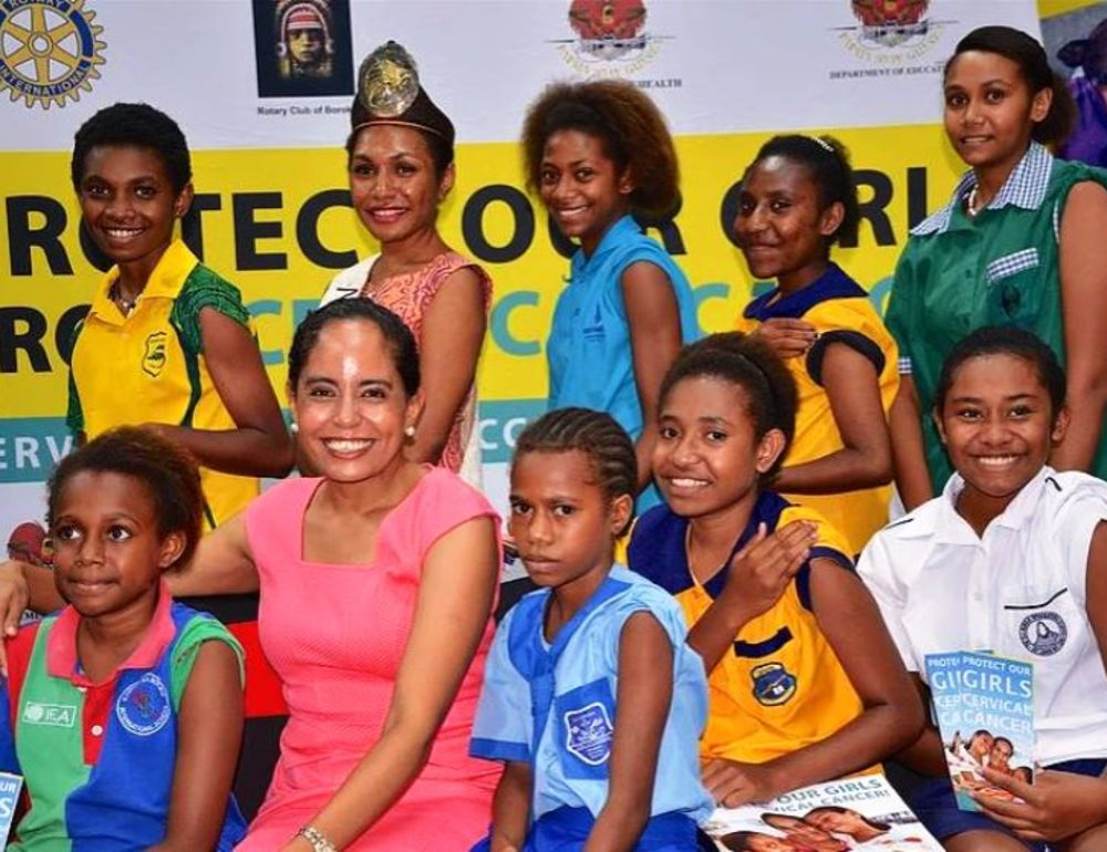PM's wife launches HPV vaccine pilot campaign
