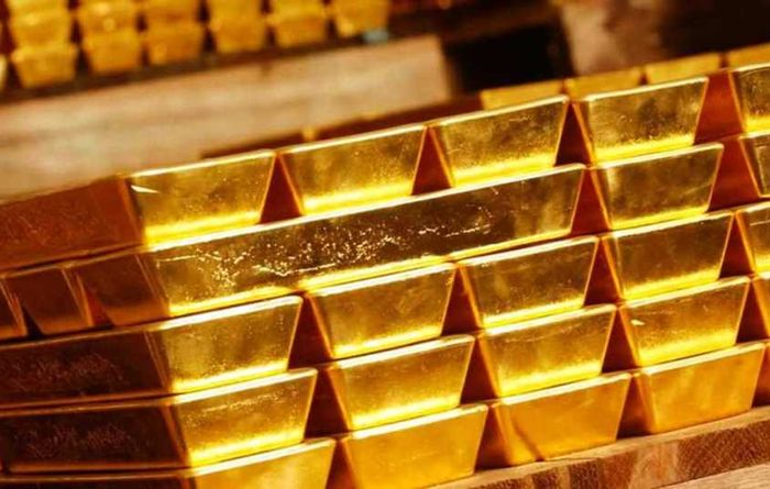 Gold at six-month low