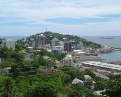 Port Moresby held to ransom