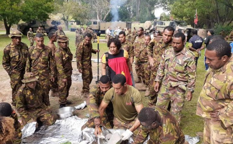PNG soldiers praised for help during fires
