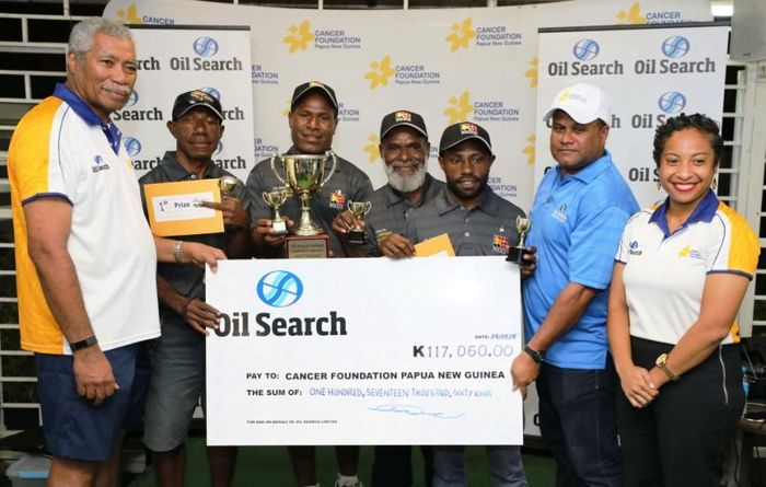 K117,060 raised for PNG Cancer Foundation