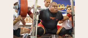 Nauru has strongest man in world