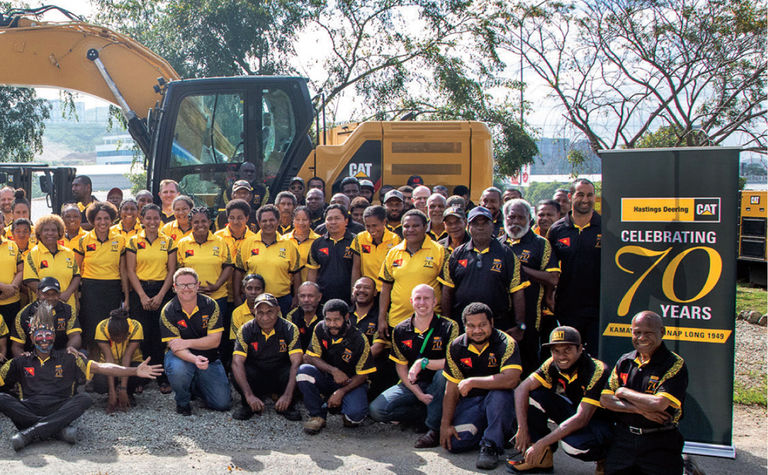 Cat® dealer keeping PNG industry moving