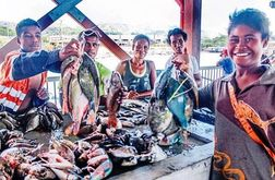 Madang fish market reopens