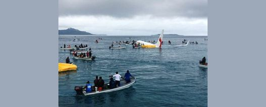 All survive Air Niugini sea plunge
