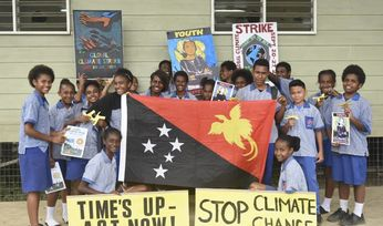 Marches held across the Pacific for climate action