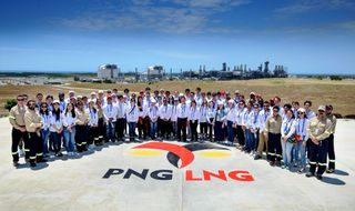 Young leaders visit PNG LNG