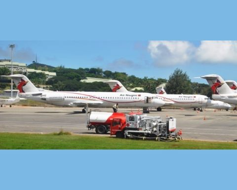 Airline CFO resigns
