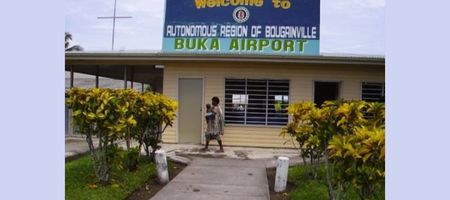 Limited air service to Buka