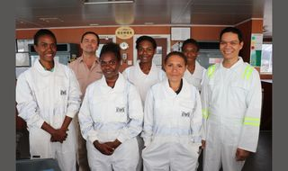 Off to sea for PNG women cadets