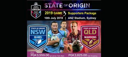State of Origin match package