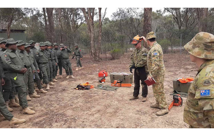 Fiji joins bushfire fight