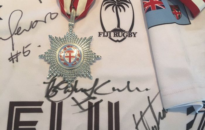 Fiji rugby coach awarded highest honour
