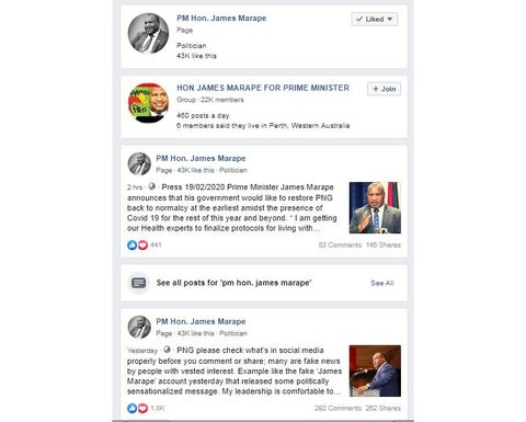 PM's Facebook fallout