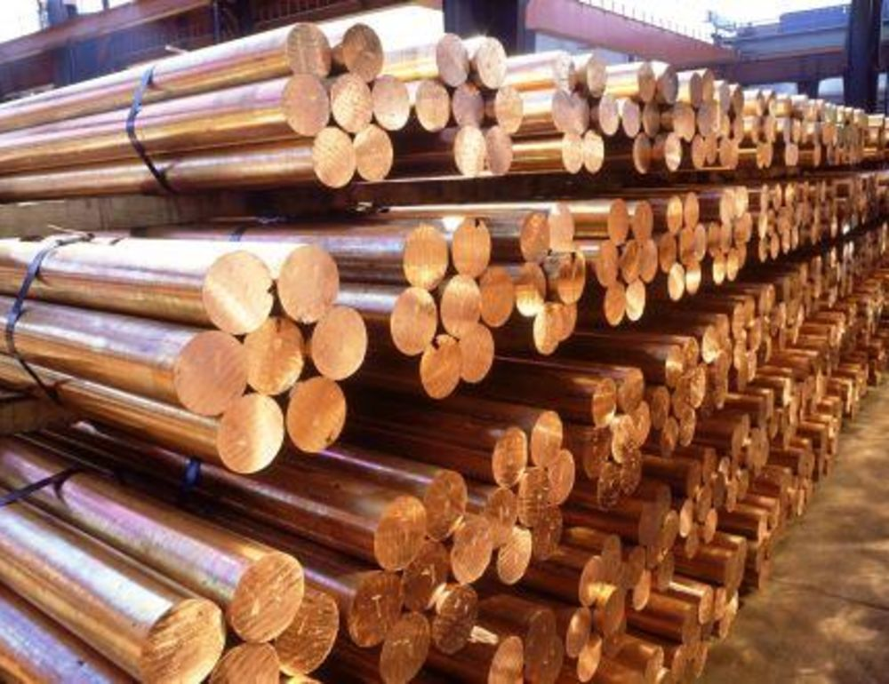 Copper production  on decline