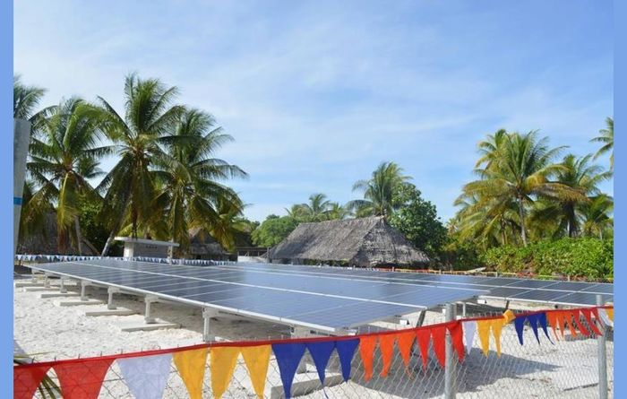 School shines with solar