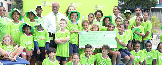 BSP donates to national swimming program