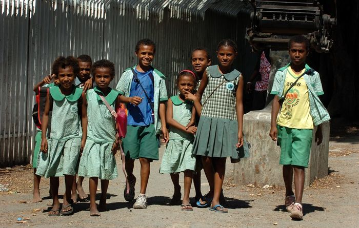 Gender based violence and basic education in PNG