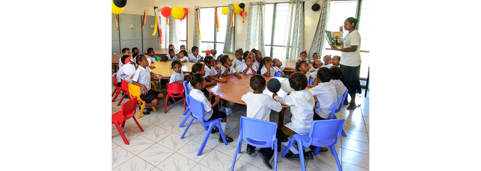 New facilities for PNG pre-school