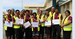 Ground staff get thumbs-up