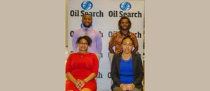 Building talent at Oil Search