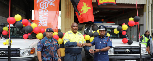 OK Tedi replaces troop carriers in Western Province