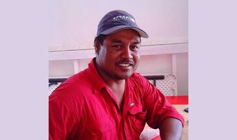 Kiribati men seek trout glory …