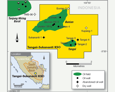 Bass Oil back strongly in Sumatra