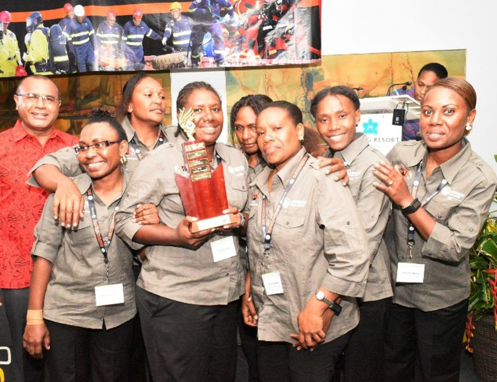 Mining competition praised