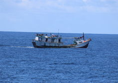 Indonesian fish boat apprehended
