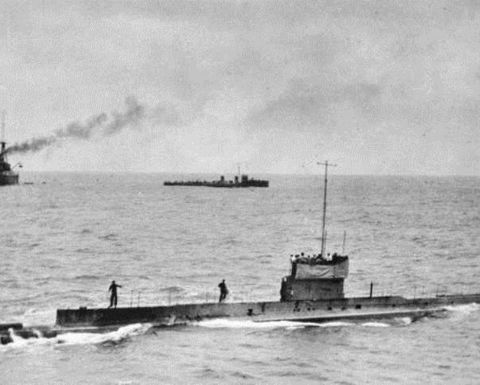 Report details final moments of WW1 submarine AE1 - PNG Report