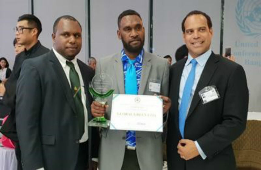 Port Vila gets 'Green City' award