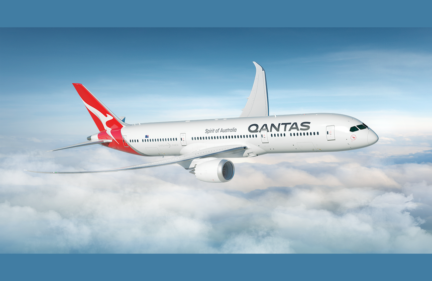 Dreamliner service from Brisbane to US
