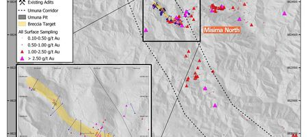 Kingston conducts first drilling at Misima North