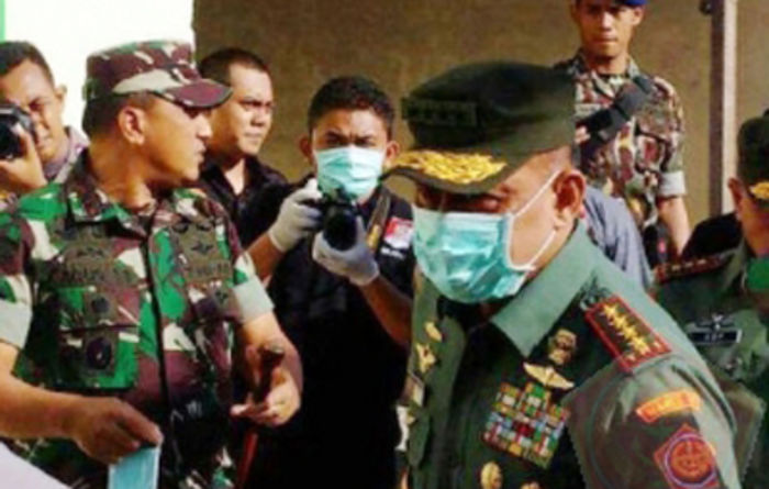 TNI helicopter crash claims all 13 on board