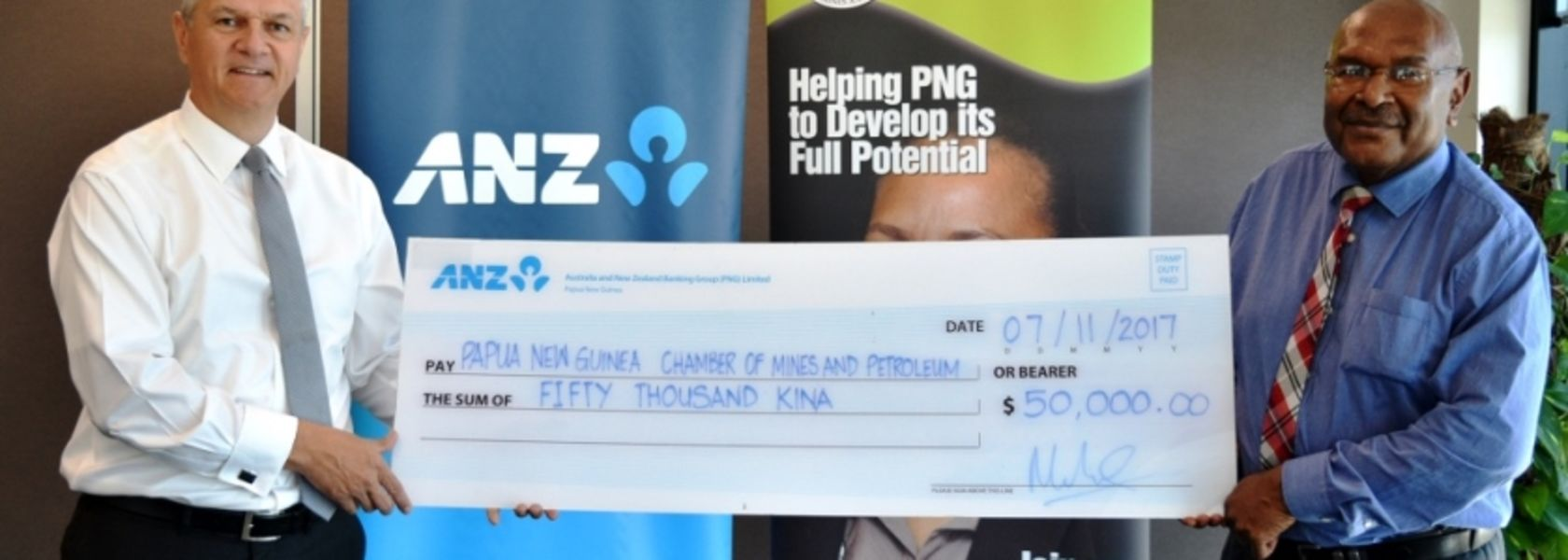 ANZ backs mining event with K50,000