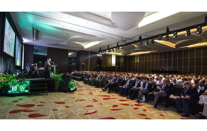 Oil, gas, mining event takes off