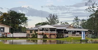 Building up to PNG golf open