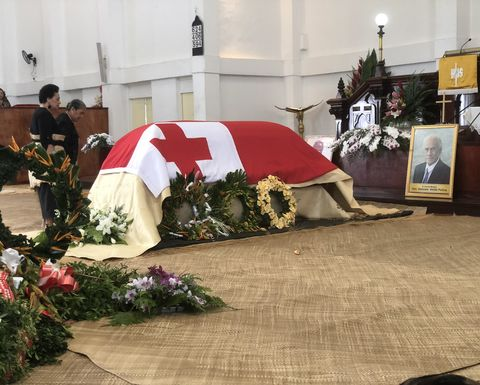 Tonga mourns the loss of PM Akilisi Pohiva at state funeral