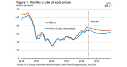 EIA guidance on 'losing' oil