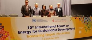 ESCAP hosts energy forum to address transition